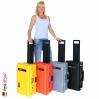 1535 AIR Carry-On Koffer Mit Einteiler, Schwarz 9