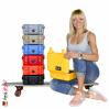 1200 Koffer Mit Schaum, Blau 6
