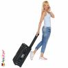 1535 AIR Carry-On Koffer Mit Einteiler, Schwarz 8