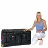 Super V-Series 7U Rack Mount Case, Schwarz 12
