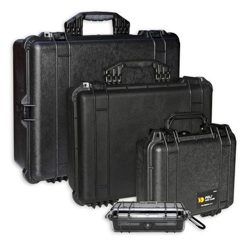 Peli Koffer Farbe Schwarz
