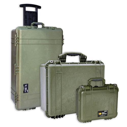 Peli Koffer Farbe OD Green