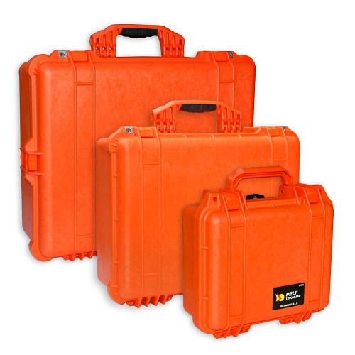 Peli Koffer Farbe Orange