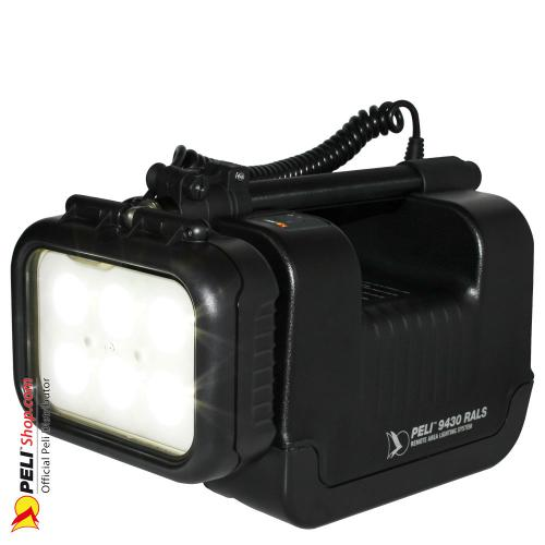 9430C Remote Area Lighting System 220V EU, Schwarz