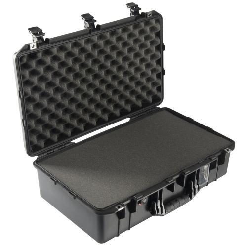 1555 AIR Koffer Mit Schaum, Schwarz