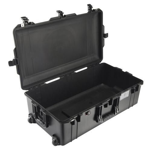 1615 AIR Check-In Koffer, PNP Schnallen, Ohne Schaum, Schwarz