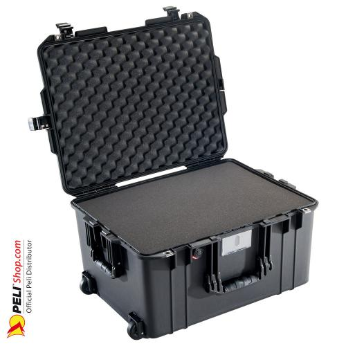 1607 AIR Koffer, PNP Schnallen, Mit Schaum, Schwarz