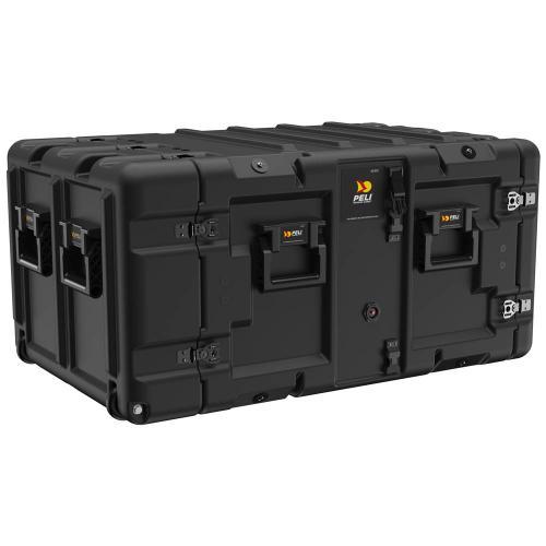 Super V-Series 7U Rack Mount Case, Schwarz