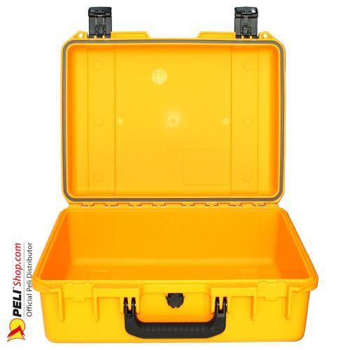 iM2400 Peli Storm Koffer Gelb, Ohne Schaum