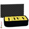 1510 Carry On Koffer, Mit Einteiler, Schwarz 6