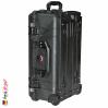 1510 Carry On Koffer, Mit Einteiler, Schwarz 3
