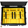 1560 Koffer Mit Einteiler, Schwarz 6