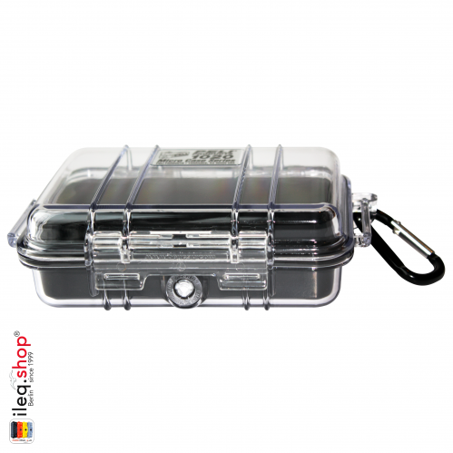 1020 MicroCase Schwarzer Einsatz, Transparent