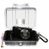 1020 MicroCase Schwarzer Einsatz, Transparent 1