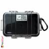 1020 MicroCase Schwarzer Einsatz, Transparent 2